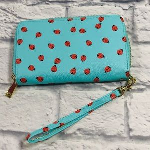 Ladybug Zip Around Wallet